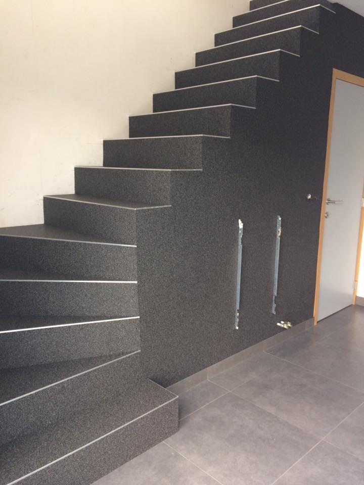 Betonvloeren met steentapijt © Accentvloeren