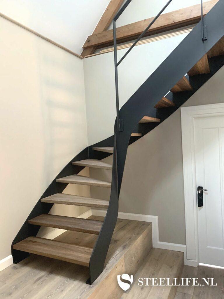 Mogelijkheden stalen trap © Steellife.nl