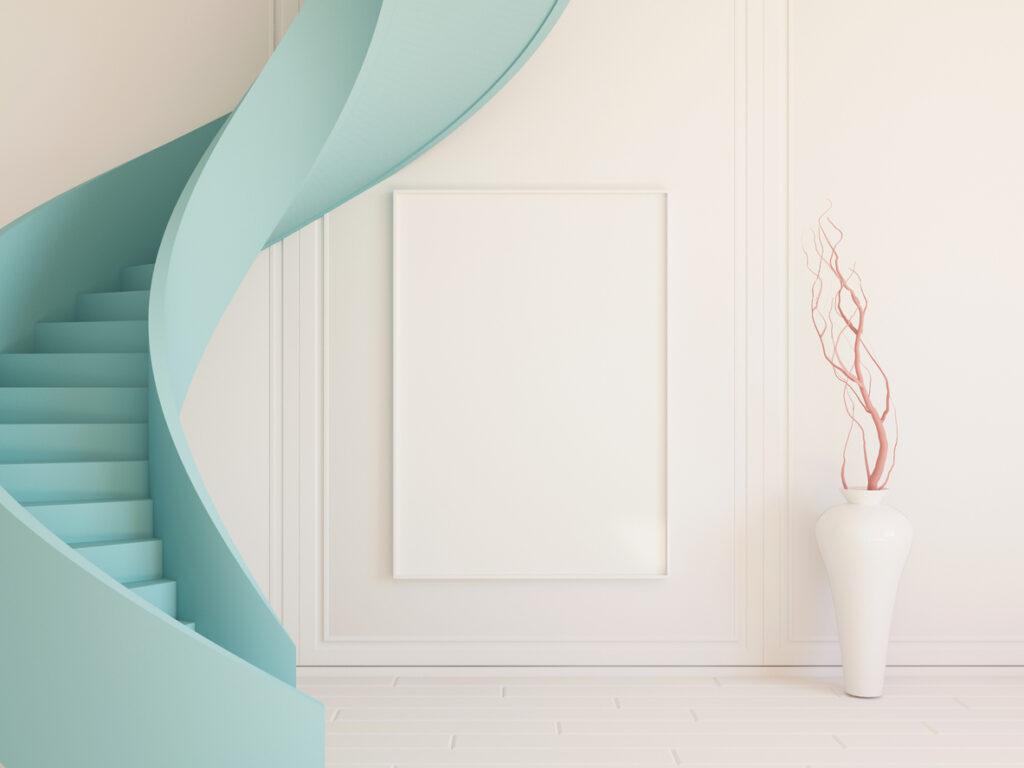 Welke verf is geschikt voor een trap?